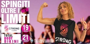 STRONG BY ZUMBA - SPINGITI OLTRE I LIMITI - SPRING EDITION 2019